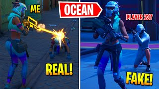 I Pretended To Be BOSS Ocean In Fortnite