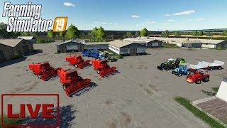"""???? [LIVE] Farming Simulator 19 - """"Przejmujemy PGR"""" - Na żywo"""