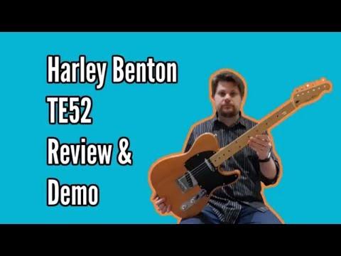 Harley Benton TE52 NA Review and Demo