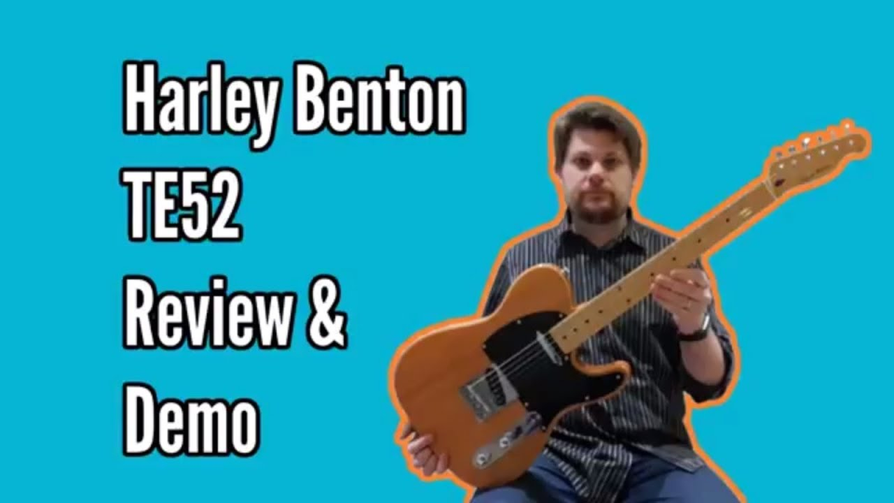 Harley Benton TE52 NA Review and Demo