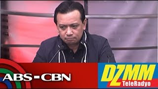 DZMM TeleRadyo: Sara Duterte 'entitled' to defend her father, Trillanes says