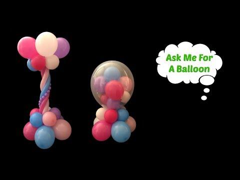 2 Centerpiece Ideas - Balloon Decoration Tutorial