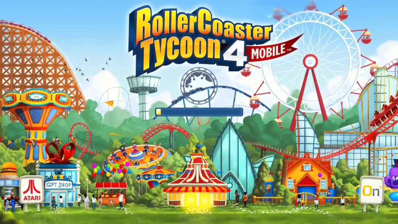 RollerCoaster Tycoon 4 Mobile MOD APK 1 13 5 - Gameplay