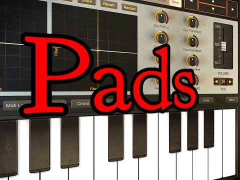 SynthMaster Player - Let's Explore A Few Of The Super Lush Pads - iPad Demo