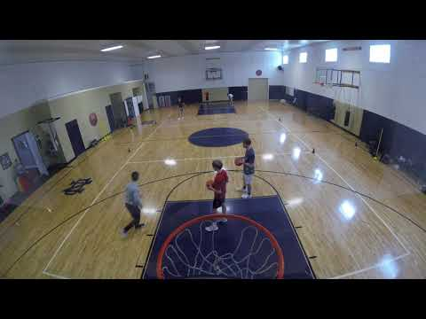 ABOVE THE RIM - Bird's Eye View of a Skill Development Workout in Northern Indiana