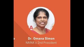 Felicitation speech by Dr. Omama Simon