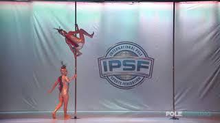 Maki Mori  Keiko Takemoto - IPSF World Pole Championships 2018