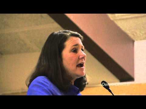 US Rep.Diana DeGette at Denver Dems Spaghetti Dinner 4-14-13