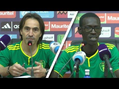 Conférence de presse de Corentin Martins et son adjoint Moustapha Sall