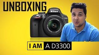 Unboxing Of Nikon D3300 DSLR
