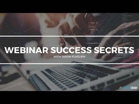 One Webinar Away From 6 Figures - with Jason Fladlien