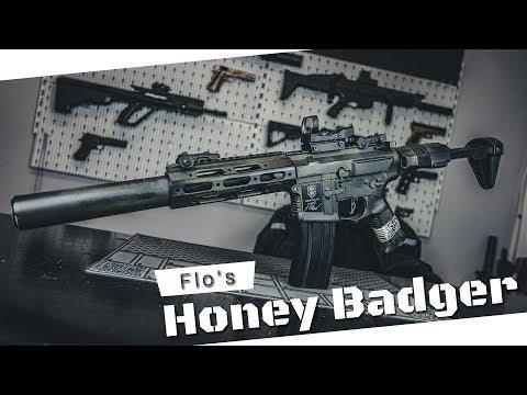 "A.C.S. ""Techsoft"" - Flo's Honey Badger | Wolverine Inferno + Polarstar Triggerboard?!"