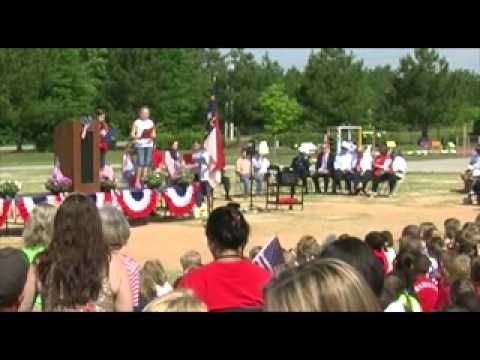 Holly Grove Elementary School Memorial Day 2014