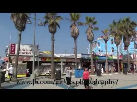 Santa Monica Pier & Beach Music Video