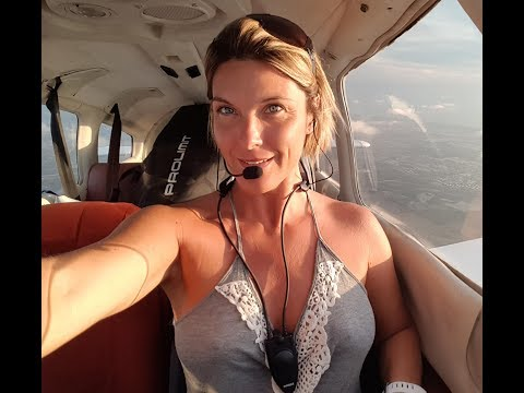 Thumbnail: Gyrocopter Girl Flying in Florida Key West ATC & Audio 2017 05