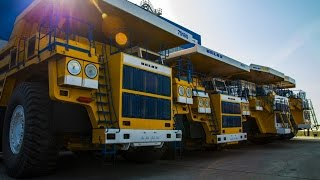 Guinness World Record : Largest mining truck body Belaz 75710 - 450 metric tons HD