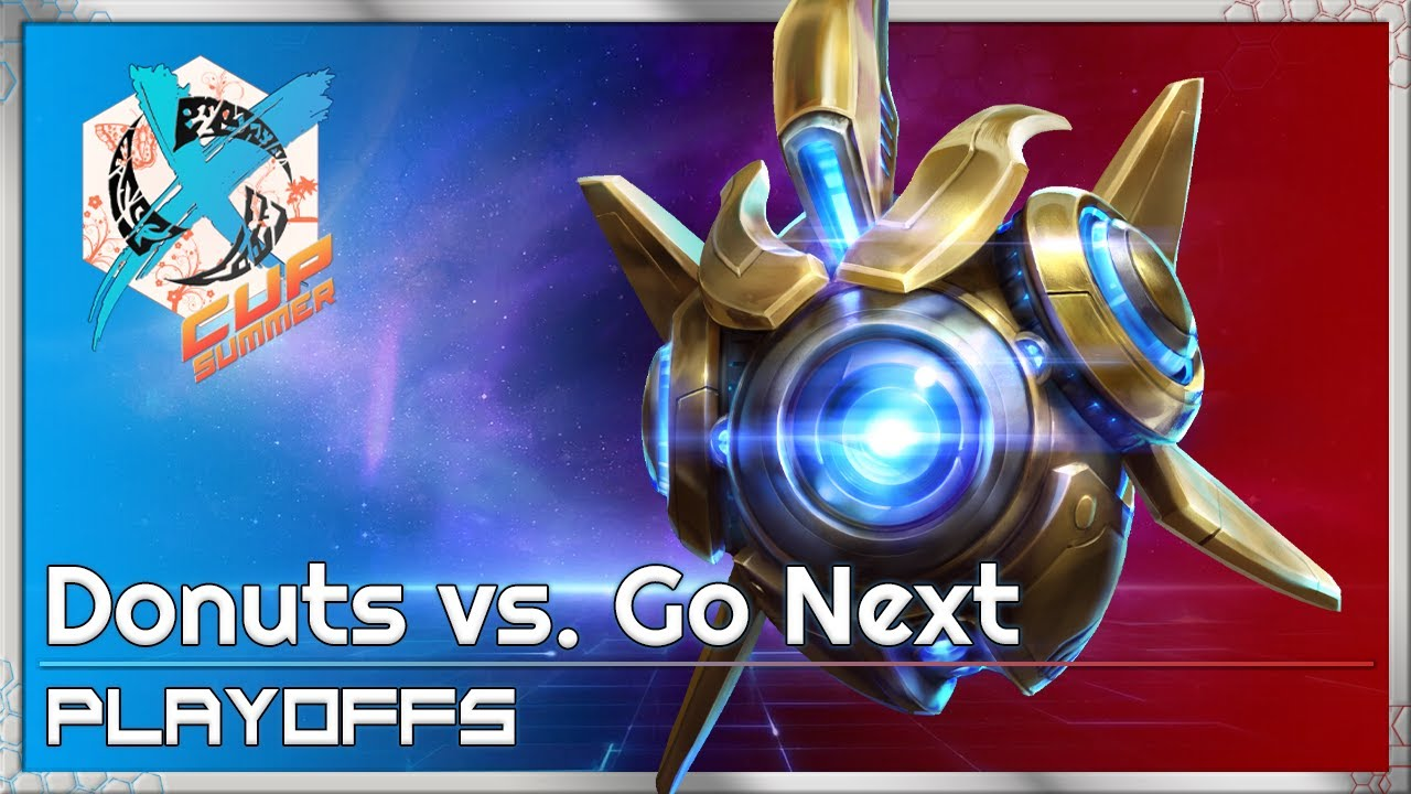 Donuts vs. Go Next - XCup Playoffs - Heroes of the Storm Tournament