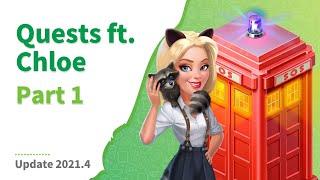 Chloe&#39s Quest - Part 1  Floors 1 &amp 2  My Café: Recipes &amp Stories