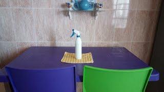 خلطتي السحرية لتنظيف طاولة المطبخ وجميع الاسطح لاتفوتوها