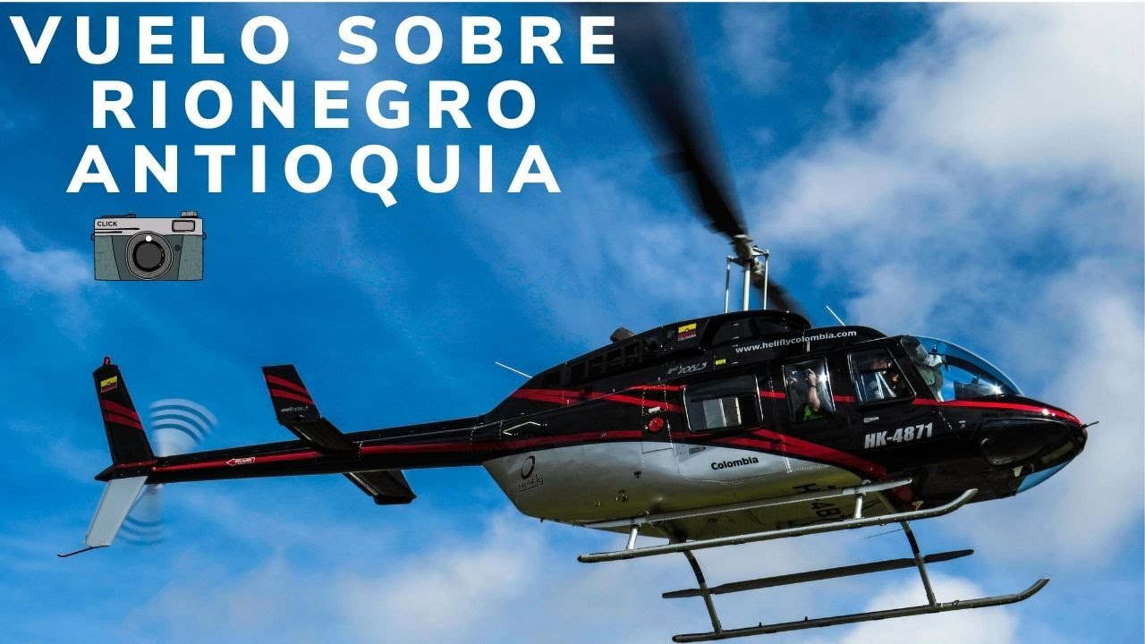 Vuelo sobre Rionegro Antioquia // Helicopter Tour in Rionegro// Fly Colombia City Tour // Bell206L3