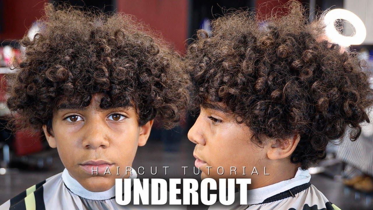 HAIRCUT TUTORIAL UNDERCUT DROP FADE