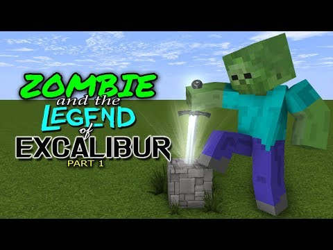 MONSTER SCHOOL : ZOMBIE AND THE LEGEND OF EXCALIBUR - DARK ENTITY (PART 1)