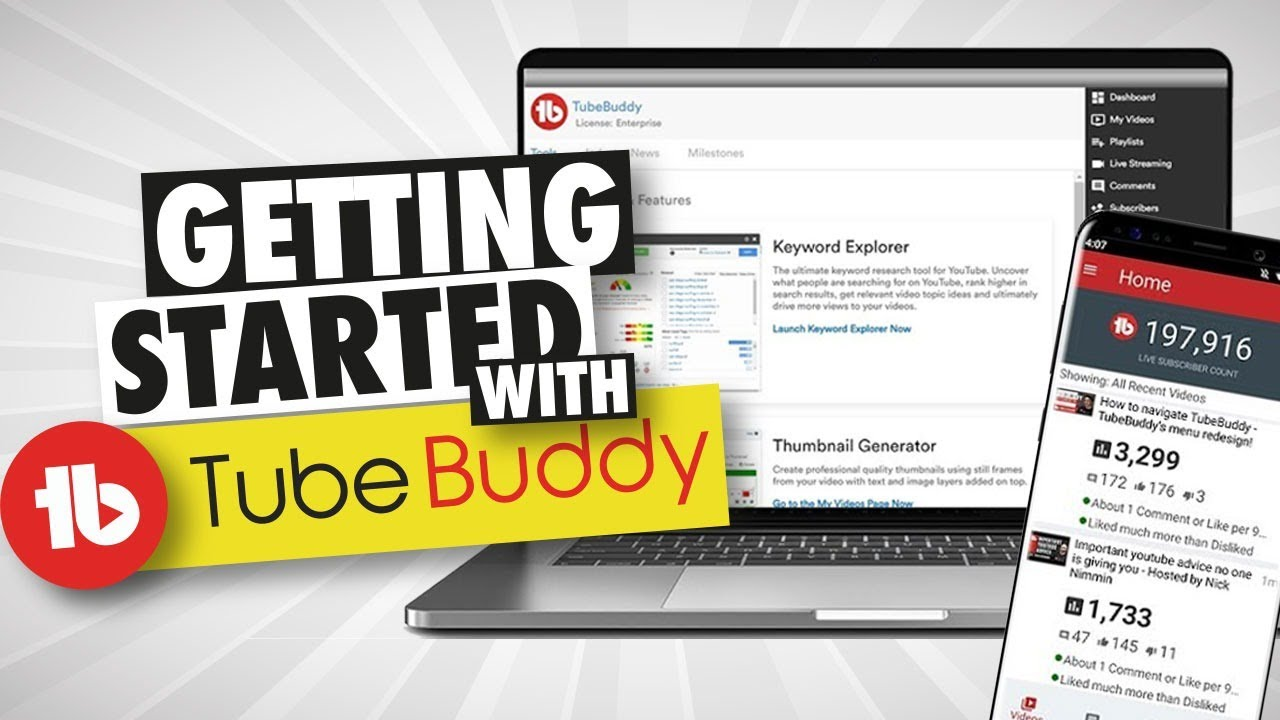 TubeBuddy | The Premier YouTube Channel Management Toolkit