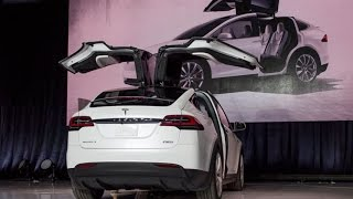 Tesla Launches New Model X SUV