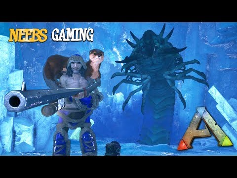 ARK Survival Evolved - Icy Death Worms!!!