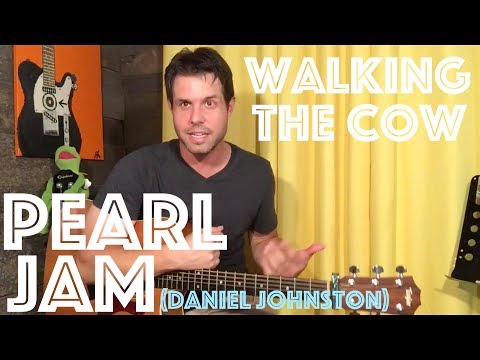 Guitar Lesson: How To Play Walking The Cow Like Pearl Jam Did That One Time