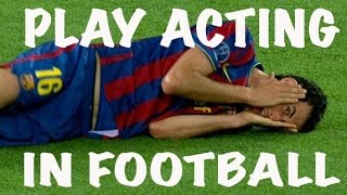 Play Acting / Feigning Injury / Diving in Football ft Neymar, Ronaldo, Rivaldo & Busquets