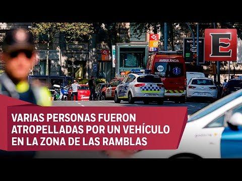 España califica de ataque terrorista el atropello en Barcelona