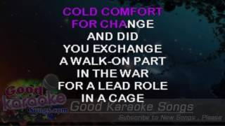 Wish You Were Here - Pink Floyd (Lyrics karaoke) [ goodkaraokesongs.com ]