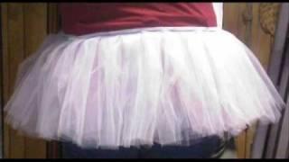 How to make petticoat/crinoline skirt/tulle skirt