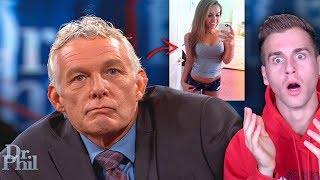 Girl's Dad Gets Catfished On Live TV! (Dr. Phil)