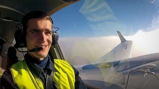 Летная практика на DIAMOND DA42NG (Бегишево) СПбГУГА 2015