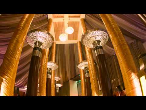 Ramadan tent for Iftar buffet