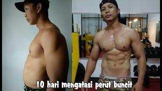 Tips / cara cepat mengatasi perut buncit / otan gj