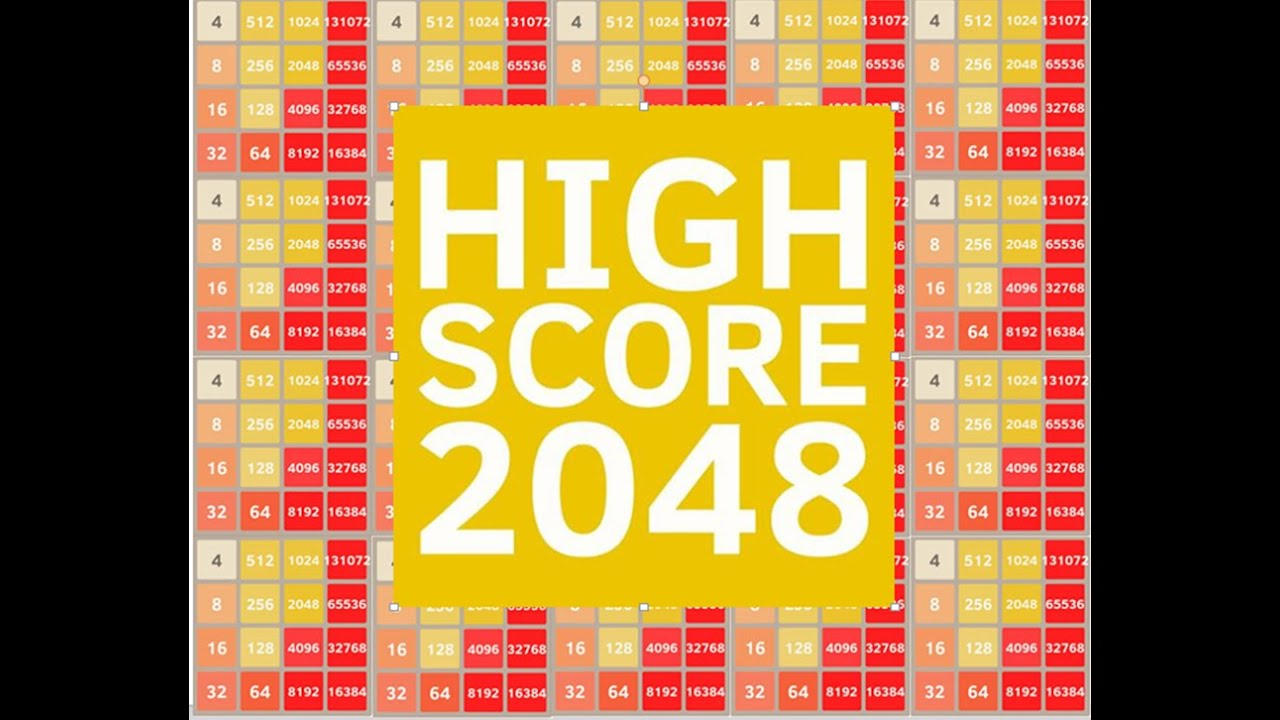 2048 Highest Score - World Record PART 6 - YouTube