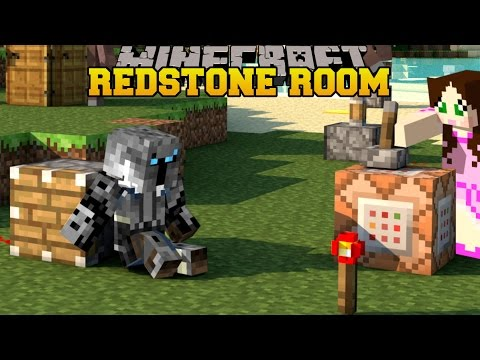 Minecraft: WACKY REDSTONE ROOM - 10 HIDDEN BUTTONS - Custom Map