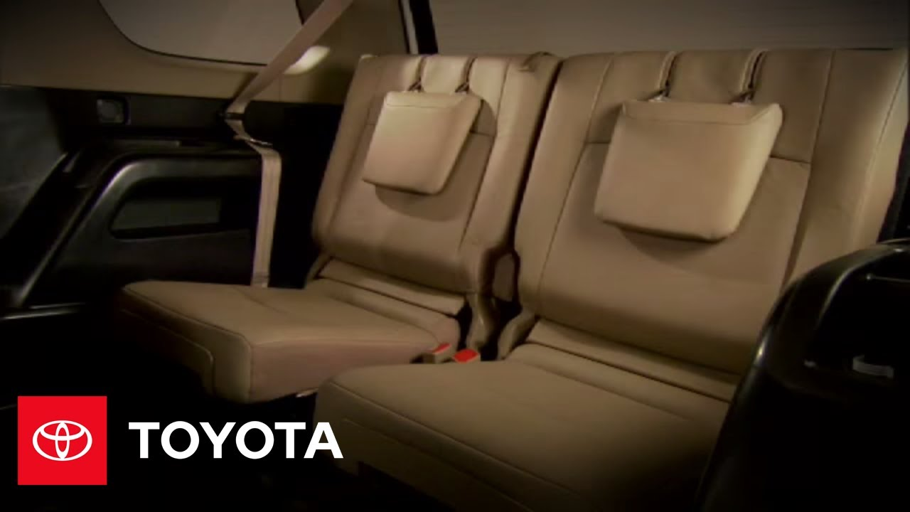 2010 4Runner How-To: 3rd Row Seats | Toyota