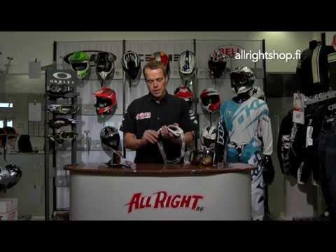 Allright ohjevideo: Näin valitset oikeat varusteet motocrossin ja enduroon