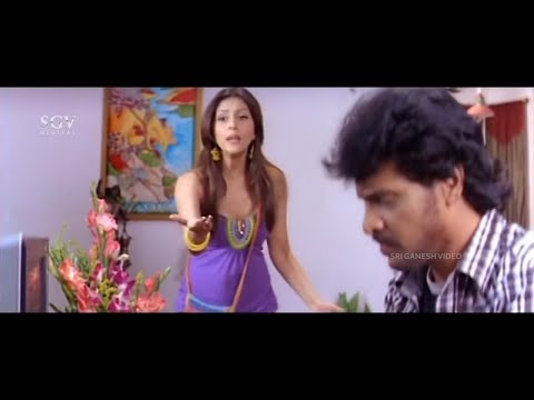 Upendra Leaves Job in Infosys for Friend   Rajani Kannada Movie Scene   Arathi Chabria