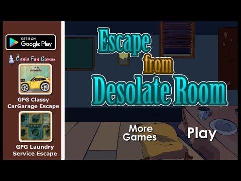 GFG Escape From Desolate Room Walkthrough [GenieFunGames]