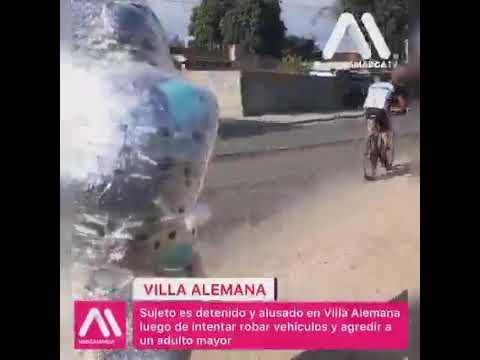 Detención ciudadana Villa