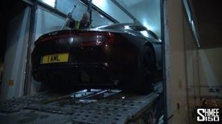 Aston Martin One-77, V12 Zagato, Vanquish, Vantage GT3 arrive at Top Gear Filming