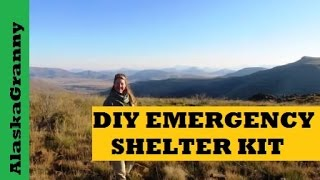 How To Make An Emergency Shelter From A Simple Home Made Kit