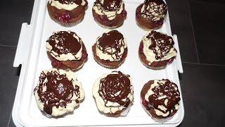 Donauwellen - Muffins