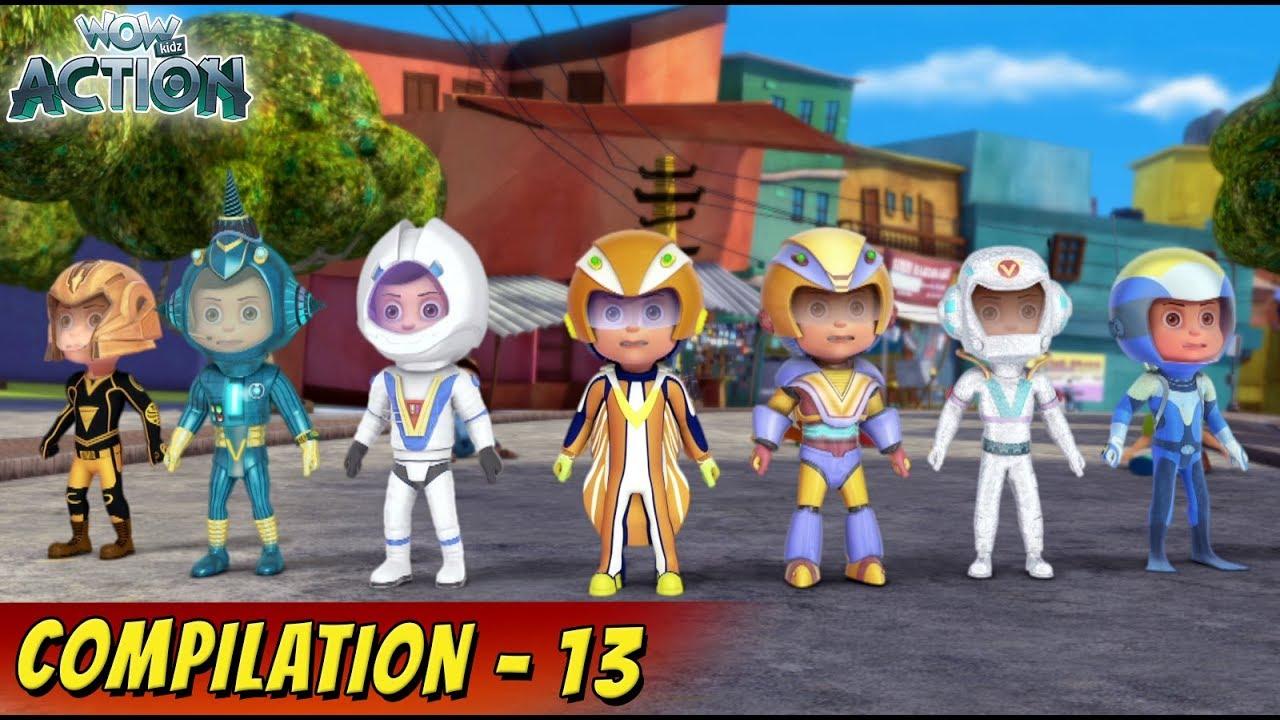 Download VIR: The Robot Boy Cartoon In Hindi | Compilation 13 | Hindi Cartoons for Kids | Wow Kidz Action