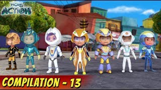 VIR: The Robot Boy Cartoon In Hindi | Compilation 13 | Hindi Cartoons for Kids | Wow Kidz Action